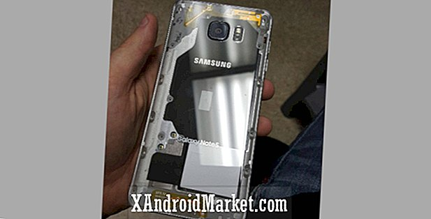 DIYer despacha su Samsung Galaxy Note 5 con un claro respaldo