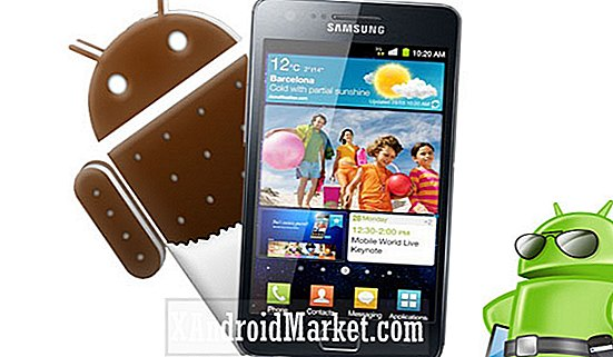 Update Samsung Galaxy S2 naar Leaked Firmware Build XXLP6 of Android 4.0.3 ICS