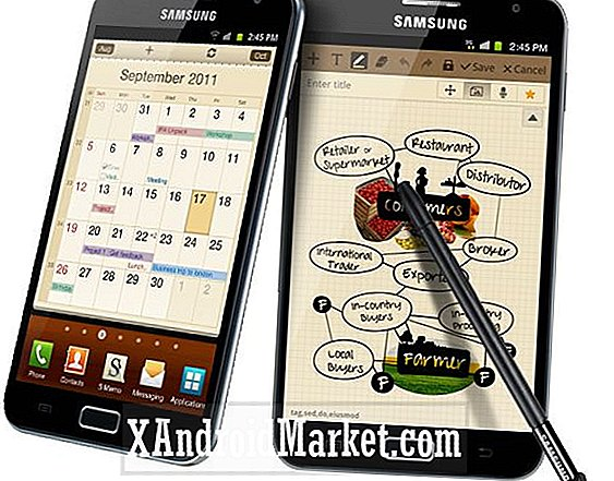Bell og Rogers Samsung Galaxy Note får Jelly Bean opdatering
