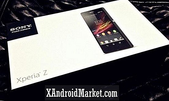 Sony Xperia Z unboxed [foto's]