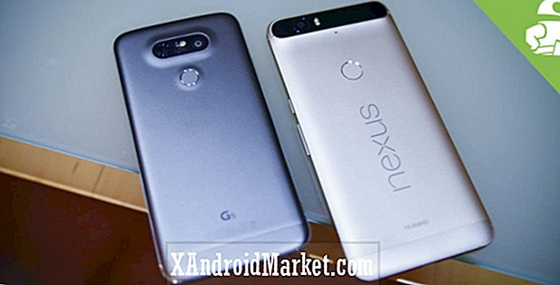 LG G5 vs Nexus 6P hands-on!