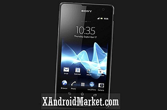 Sony onthult de Sony Xperia T vlaggenschip-smartphone