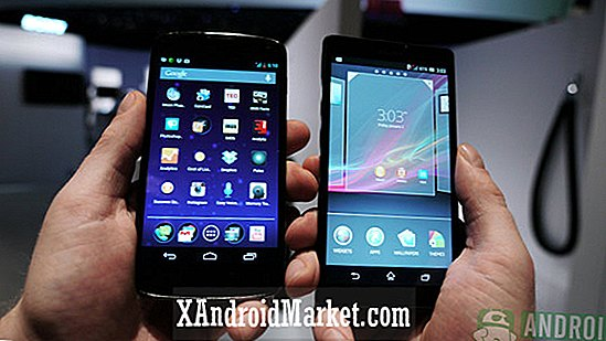 Sony Xperia ZL contre Google Nexus 4