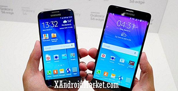 Samsung Galaxy S6 vs Galaxy Note 4 snelle look