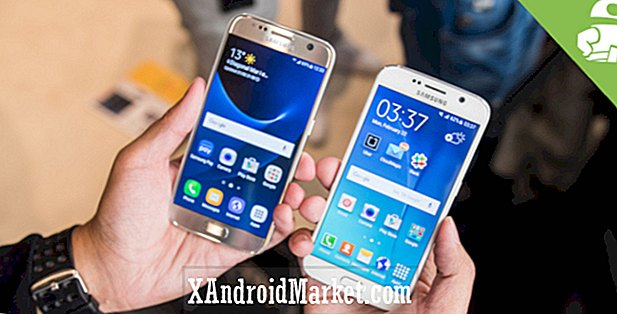 Samsung Galaxy S7 vs Galaxy S6 hands on