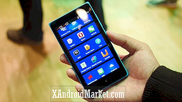 Nokia XL hands-on (MWC 2014)