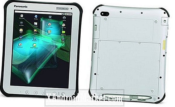 Panasonic Toughbook Android-tablet in de fabriek
