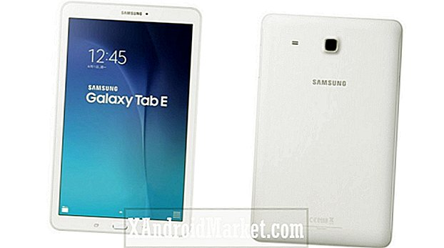 Samsung Galaxy Tab E officiell, packar relativt låga specifikationer