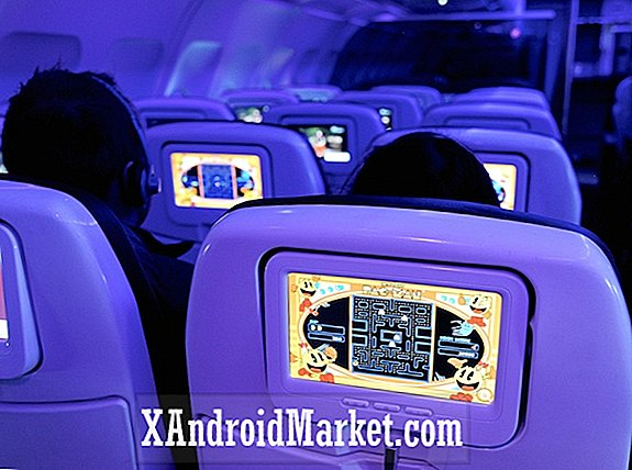Virgin America giver sin underholdning under flyvning til Android-powered upgrade