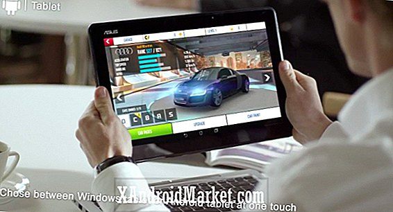 Asus Transformer Book Duet Android / Windows 8 tablet / laptop lekket foran CES 2014