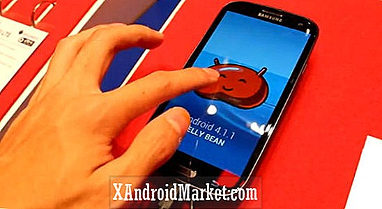 Black Galaxy S3 LTE con Android 4.1.1 Jelly bean visto en IFA 2012 [video]
