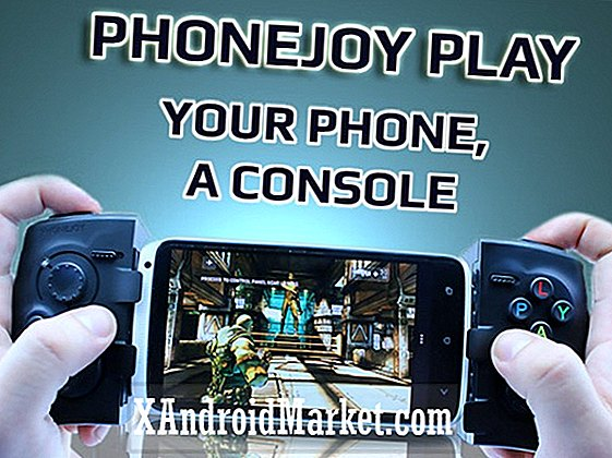 PhoneJoy Play: een universele gamepad voor smartphones