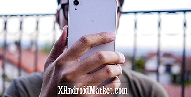 Caméra Sony Xperia Z2: mise au point