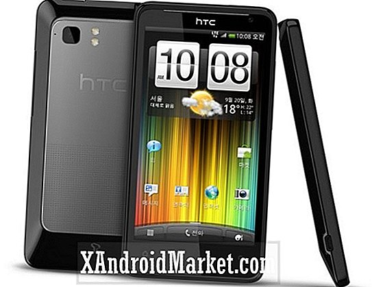 HTC Holiday Unveiled i Sør-Korea som HTC Raider 4G, kan så nå AT & T Soon