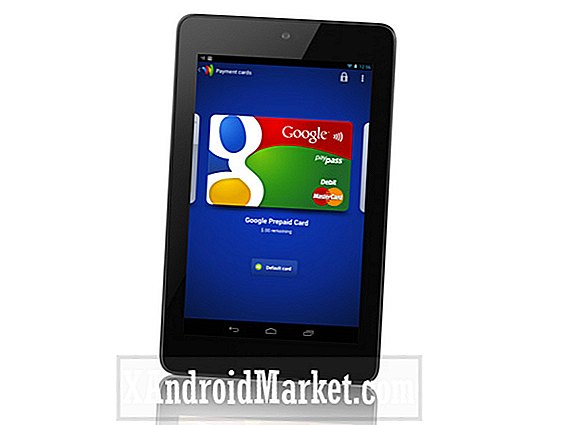 Google sender softwareopdatering til Nexus 7 for at aktivere Google Wallet