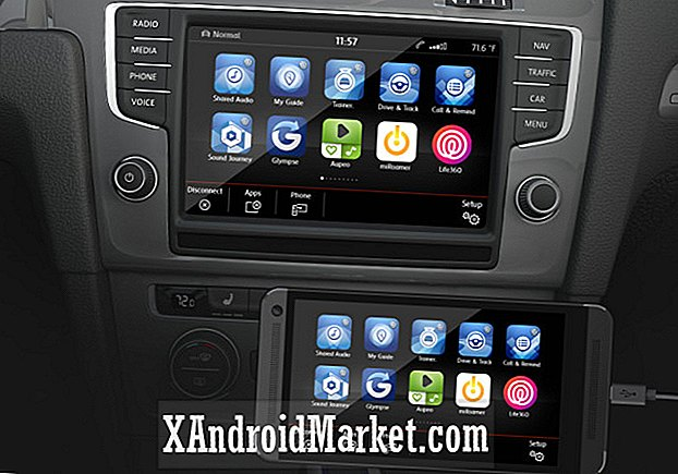 Vælg Volkswagen modeller for at bringe Android Car og Apple CarPlay i 2015
