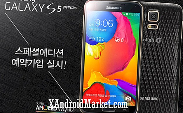 Samsung Galaxy S5 LTE-A Special Edition swaps dimples for falske diamanter
