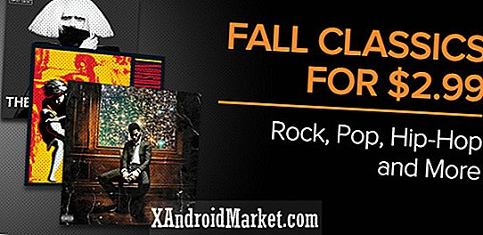 Legends of the Fall-uitverkoop op Google Play Music verlaagt 48 albums naar $ 2,99