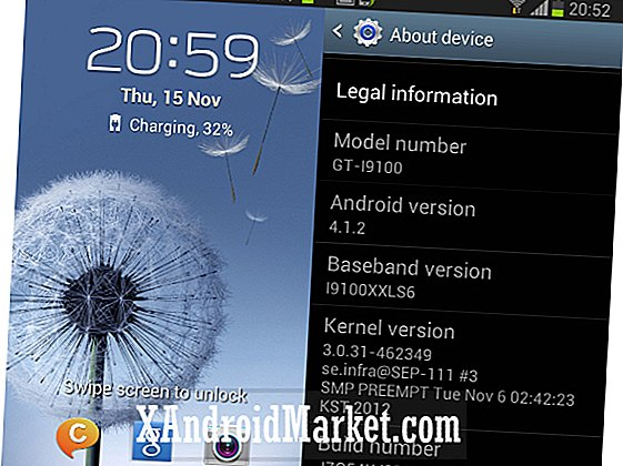 Galaxy S2 Android 4.1.2 Jelly Bean opdatering nærmer sig, som I9100XXLSJ firmware lækager