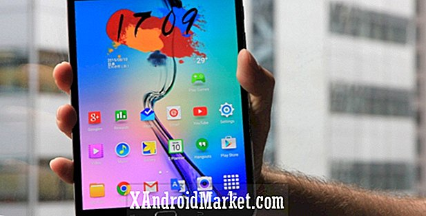 AT & T Samsung Galaxy Tab S2 får Android 6.0.1 Marshmallow opdatering