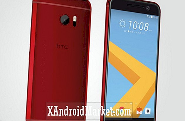 Melden: HTC 10 Camellia Red is mogelijk alleen in Japan