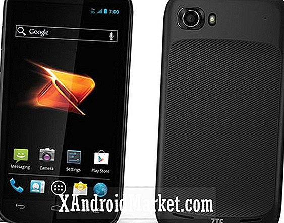 ZTE Warp Sequent está disponible en Boost Mobile con ICS y especificaciones de bajo costo por $ 200