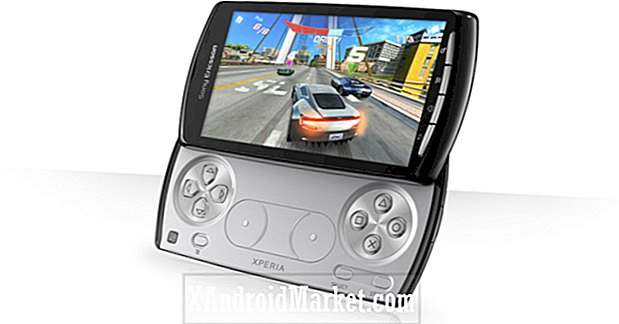 Android 2.3.4 Gingerbread Update til Sony Ericsson Xperia Play Aktiveret 720p HD Video Recording Powers