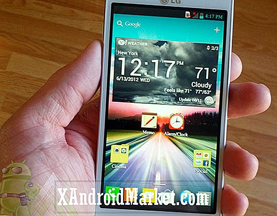 El Optimus 4X HD de LG se reduce a 300 £