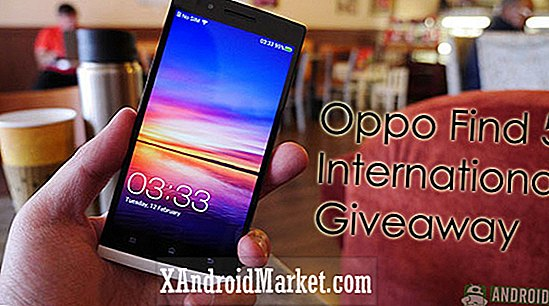 Oppo Find 5 International Giveaway!