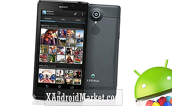 AT & T laver Sony Xperia TL's Jelly Bean upgrade officielle, OTA ud nu
