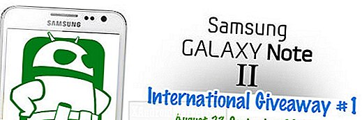 Samsung Galaxy Note 2 International Giveaway!