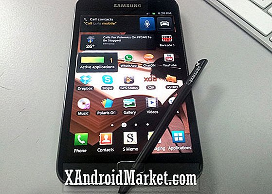 S Memo Stylus Review - En närmare titt på Galaxy Note [Video]