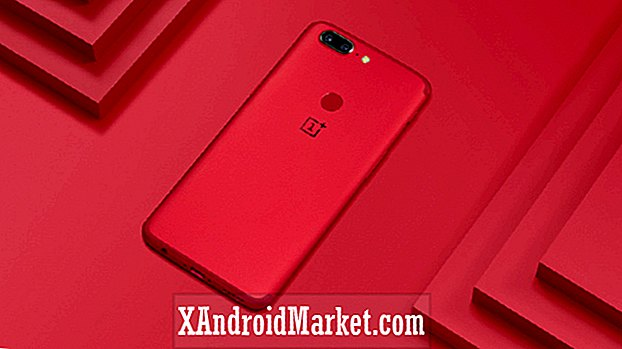 OnePlus 5T Lava Red Edition kommer til India