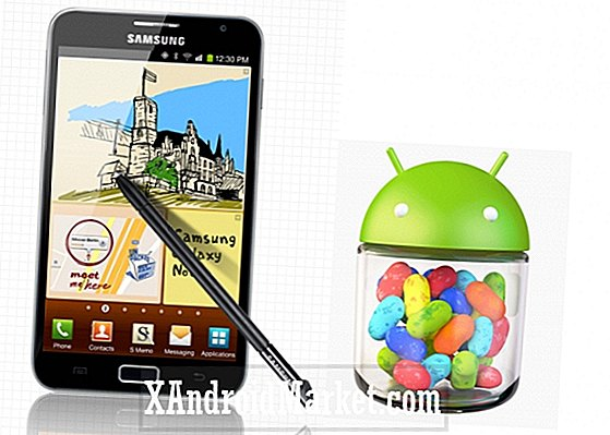 Galaxy Note Android 4.1.2 Jelly Bean déploie officiellement sa version internationale