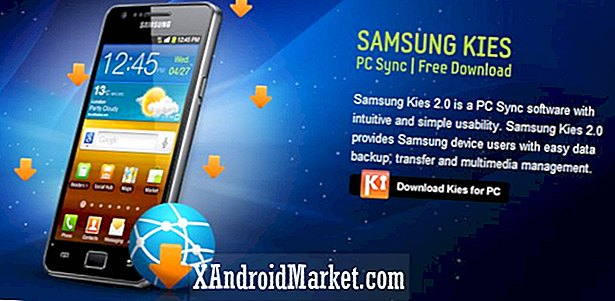 AT & T Samsung Galaxy S II Android 4.0 Ice Cream Sandwich Update tilgjengelig