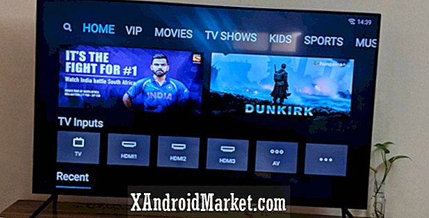 Xiaomos 55-tommers smart-tv er 5 millimeter tyk, der kommer til Indien for Rs. 39.999