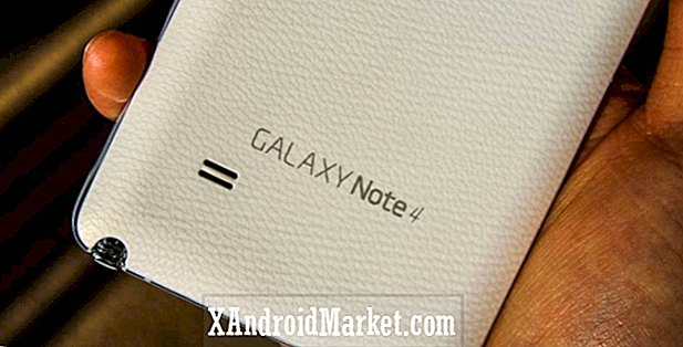 AT & T Galaxy Note 4 får nu uppdatering av Lollipop