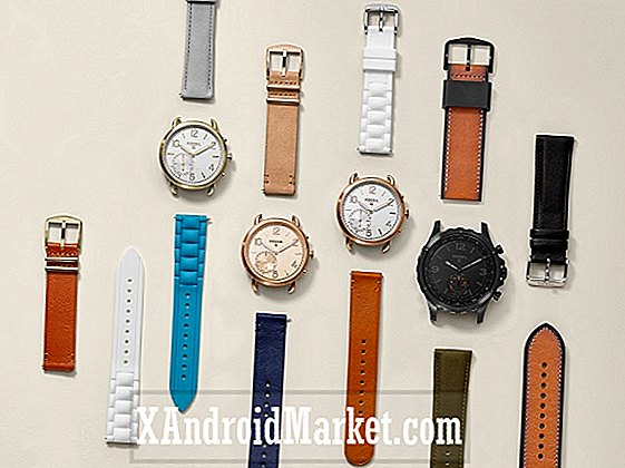 Fossil introduserer fire upretensible hybrid smartwatches til sin Q-linje