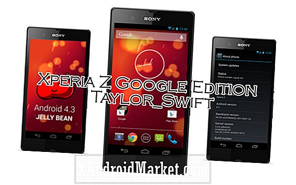 Version de l'OS Android 4.3 Édition Google Play portée sur Sony Xperia Z