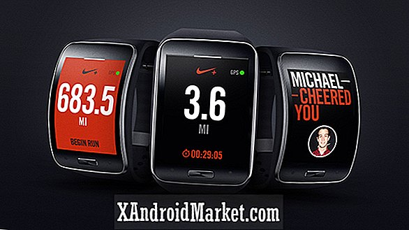 Nike + Running App lance pour le Samsung Gear S