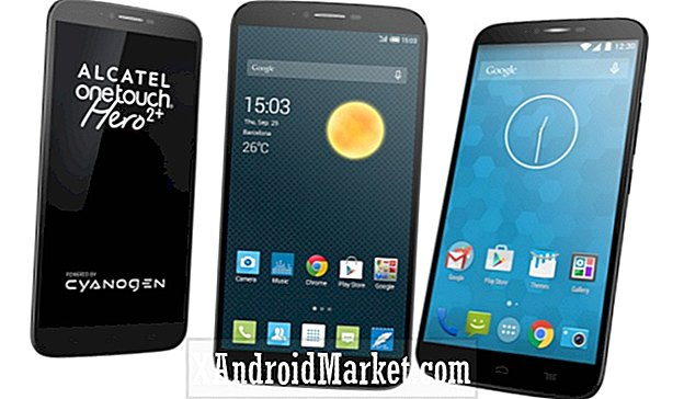 Alcatel OneTouch Hero 2+ officiel lancé