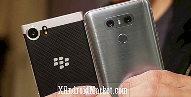 LG G6 vs BlackBerry KEYone rapide coup d'oeil