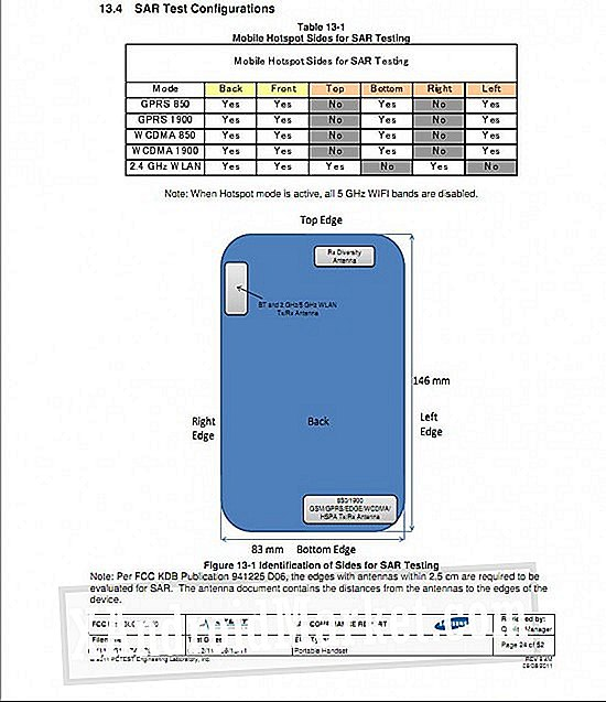 Samsung Galaxy Note Gets FCC Seal, Packs AT & T-kompatible radioer