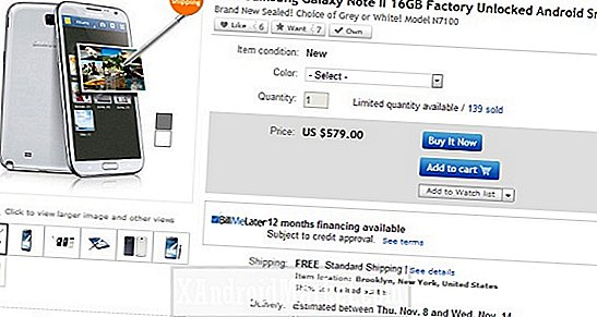 eBay Daily Deals har 16 GB ulåst Galaxy Note 2 for $ 579