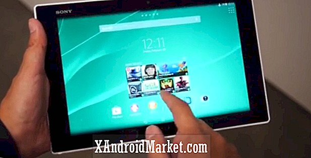 Sony Xperia Tablet Z2 hands-on (MWC 2014)
