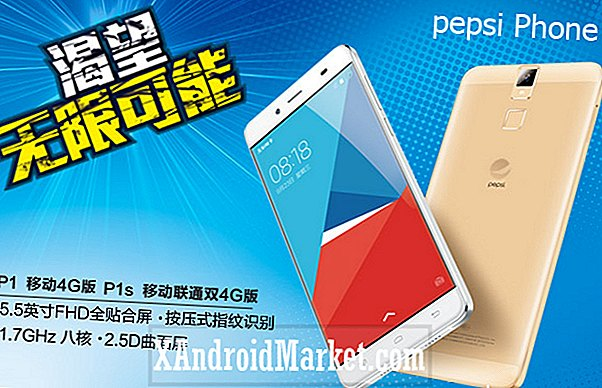 C'est officiel: Pepsi crowdsourcing un smartphone