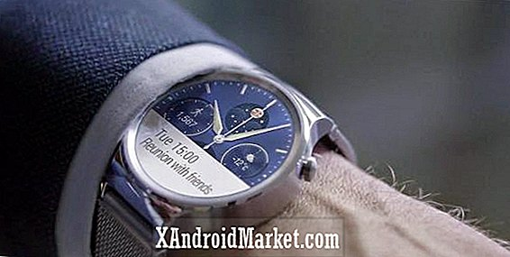 Huawei Watch officiellt lanserad