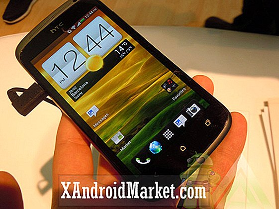 O2 tweets HTC One X UK udgivelsesdato: 5. april