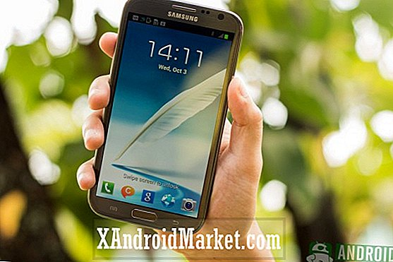 AT & T Galaxy Note 2 Android 4.3 Jelly Bean opdatering ruller ud