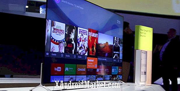 Hands-on med Sonys 2015 Bravia-TVer med Android TV